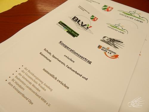 Kooperationsvertrag Gesamtschule Wenden 2015